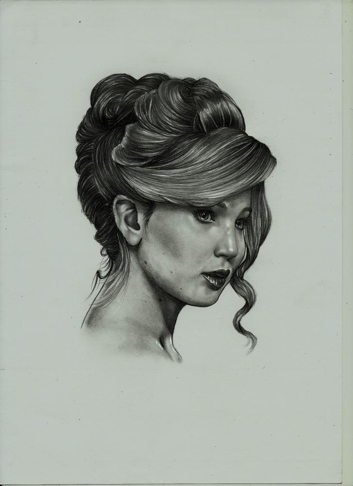 Jennifer Lawrence por Exalion